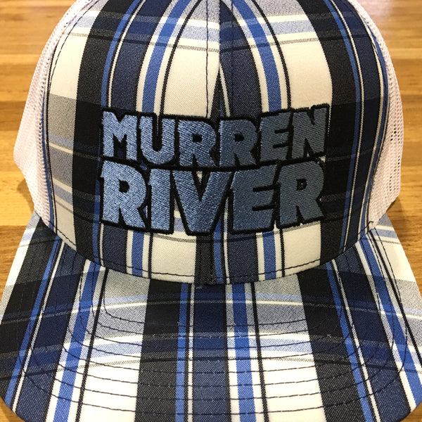 Murren River Classic Plaid Snapback