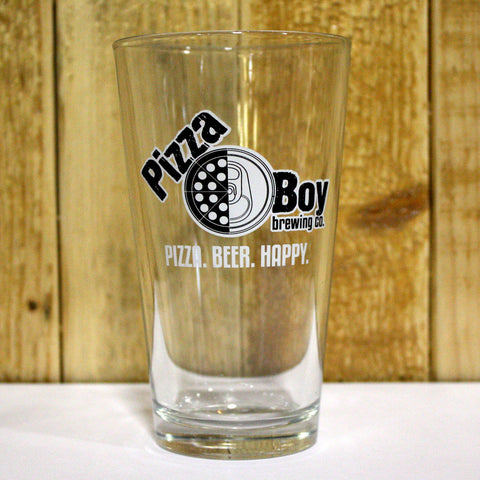 16oz Pizza Boy Pint Glass
