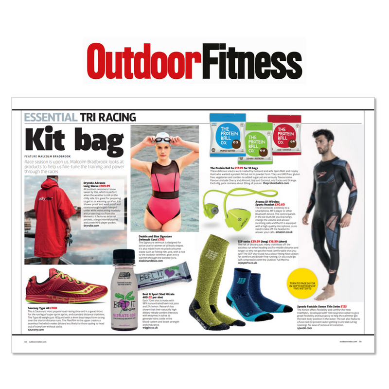 OUTDOOR FITNESS MAGAZINE (MAY 2018)