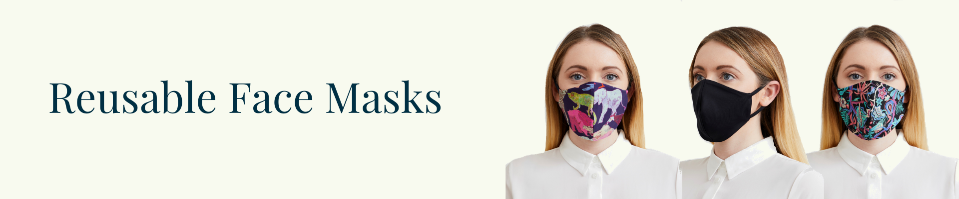 Limited Edition Reusable Liberty Print Face Masks