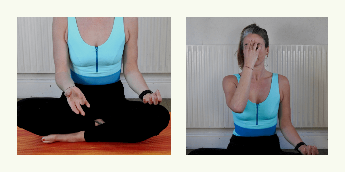 Deakin and Blue - Easy Yoga exercises for breathing and anxiety - Swim Yoga