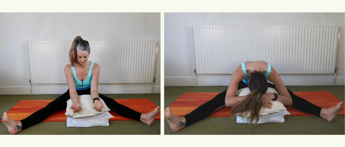 Deakin and Blue - Easy yoga breathing exercises for anxiety - swim yoga at home