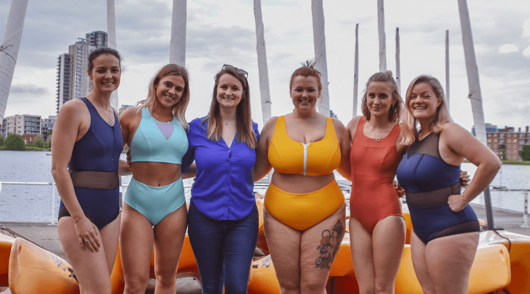 Deakin and Blue Body Positive Sustainable Swimwear East London