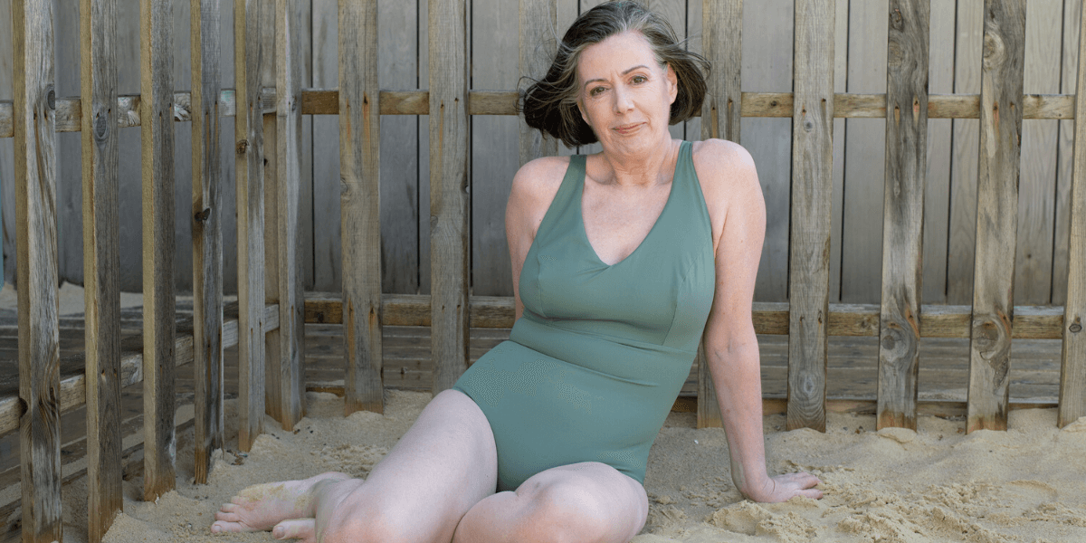 Deakin and Blue - Body Stories - Older Woman - Body Confidence - Body Image - Sea Swimmer - Midwife