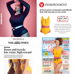 Deakin and Blue Press & Awards Independent's Best Buy Sports Swimwear Swimsuit Bikini
