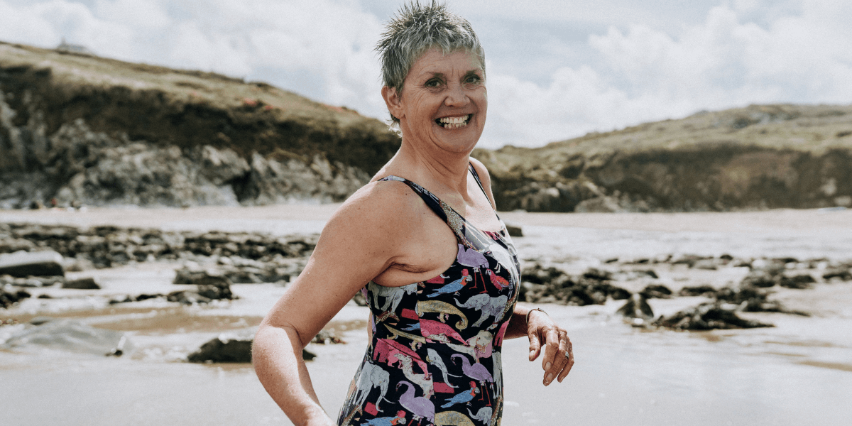 Deakin and Blue - The Bluetits - Sian - Cold Water Swimming - Body Image - Body Confidence