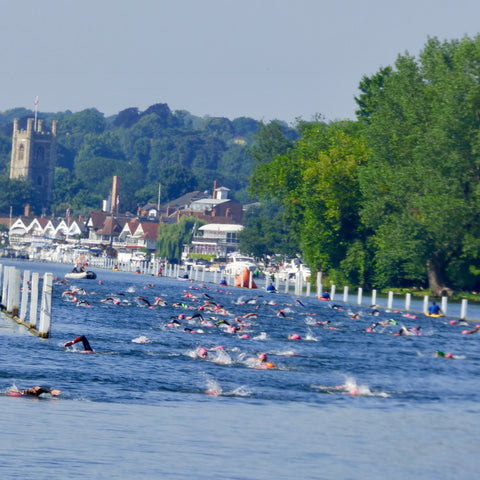 HENLEY MILE SWIM DEAKIN AND BLUE