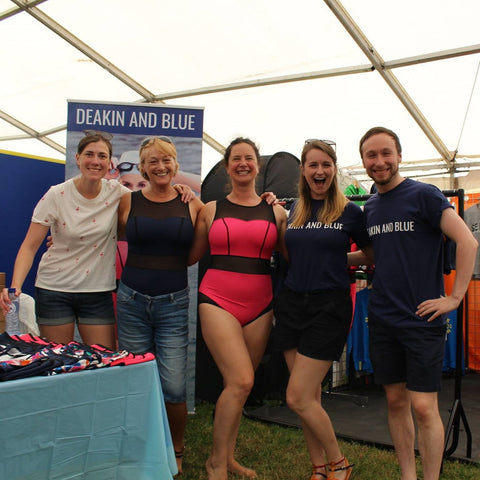 Deakin and Blue Team at Henley Swim