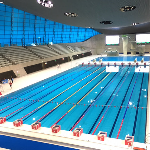 London Aquatic Centre, Stratford - Deakin and Blue