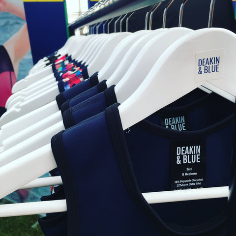 Deakin and Blue Fitness Swimwear Henley Mile