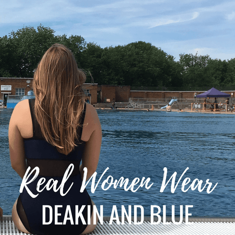 Fitness Swimwear Deakin and Blue Supportive Flattering Swimwear Real Women