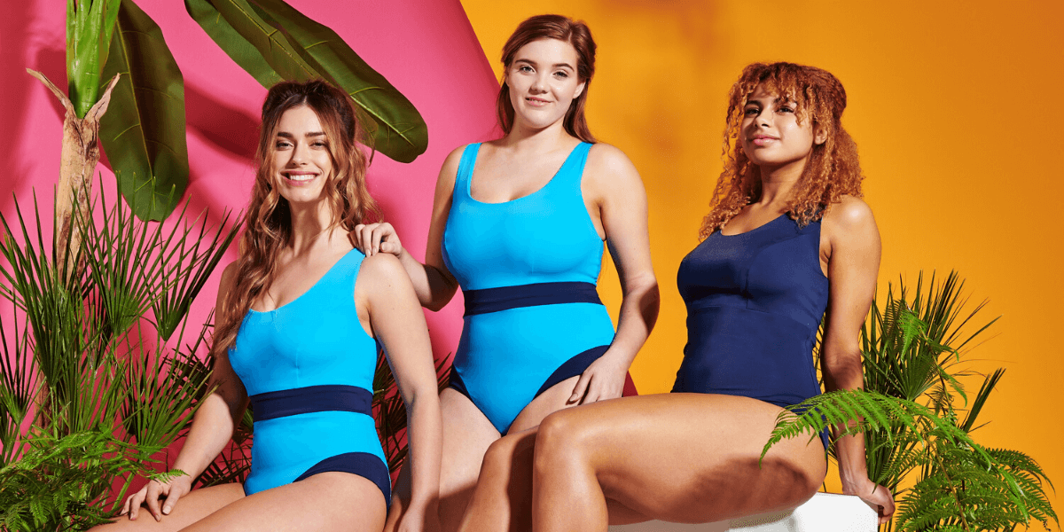 Deakin and Blue - SS20 - Sleek, Sculpting, Sustainable Swimwear - Made in London from Ocean Waste - Sizes UK 8-20, AA-HH cups