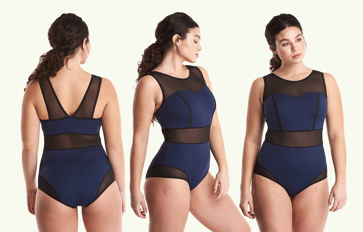 e22e45b34da13 Signature Swimsuit Navy - Monroe - Deakin and Blue