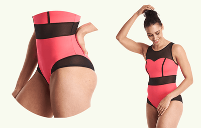 Signature Swimsuit Coral - Hepburn