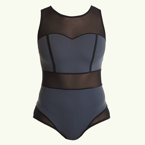 Signature Swimsuit Slate - Hepburn