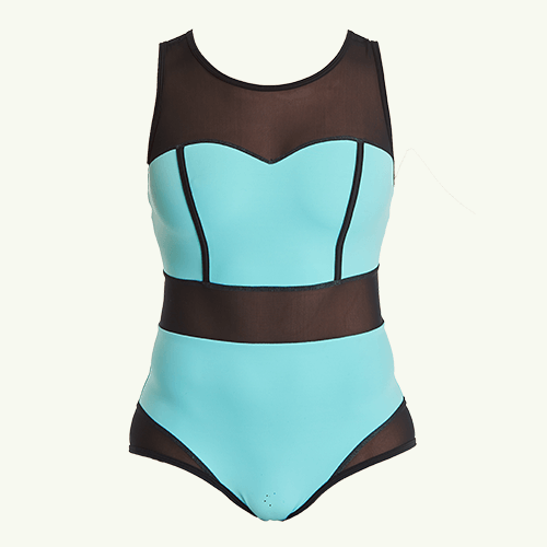 Signature Swimsuit Mint Blue - Monroe