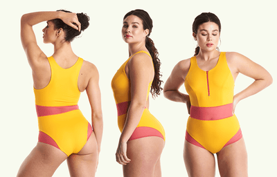 High Neck Swimsuit Mango - Monroe