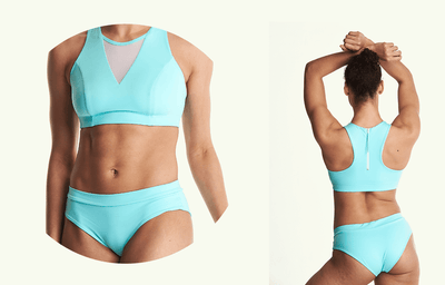 Regular Bikini Bottoms - Mint Blue