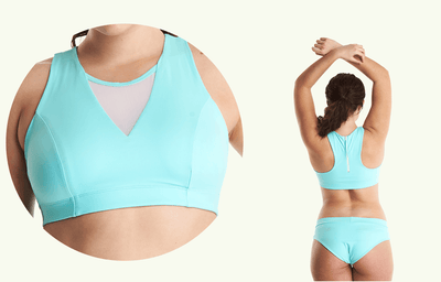 Swimbra Bikini Top Mint Blue - Monroe