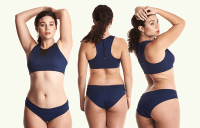 Swimbra Bikini Set Navy - Monroe