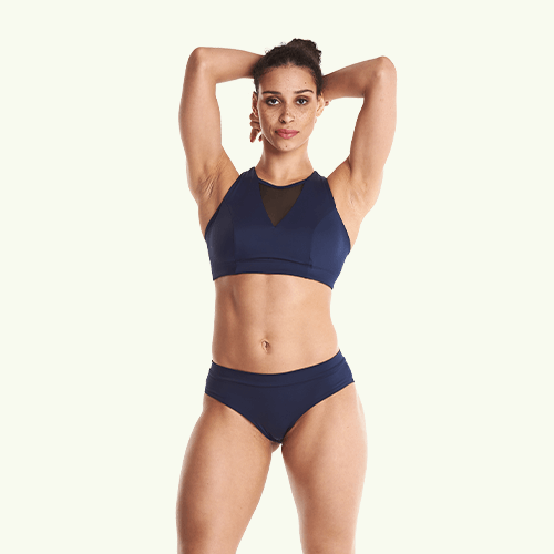 Regular Bikini Bottoms - Navy