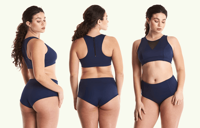 Swimbra High Waister Set Navy - Monroe