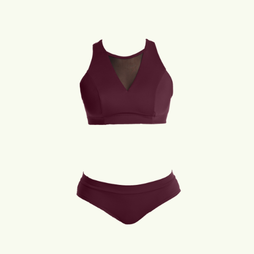 Swimbra Bikini Set Plum - Hepburn