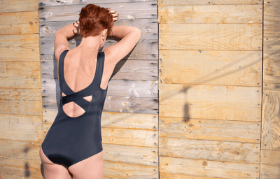 X-Back Swimsuit Black - Hepburn