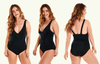 Plunge Swimsuit Black - Hepburn