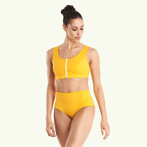 High Waisted Bikini Bottoms - Mango