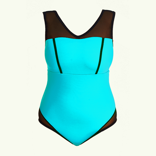 Essential Swimsuit Aqua - Monroe