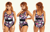 Classic Reversible Swimsuit Zoo & Black - Monroe