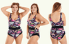 Classic Reversible Swimsuit Zoo & Black - Hendricks
