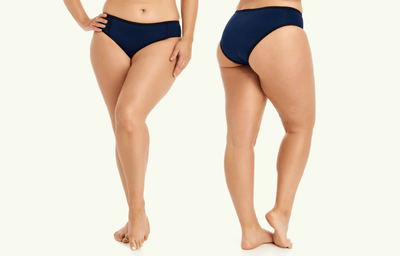 Low Rise Bikini Bottoms - Navy (old season)