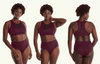 Swimbra High Waister Set Plum - Hendricks