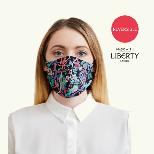 Reusable & Reversible Face Mask - Beach Meadow