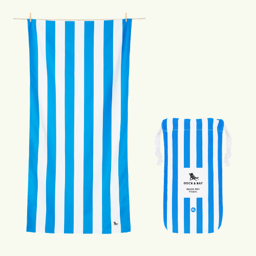 Bondi Blue Beach Towel