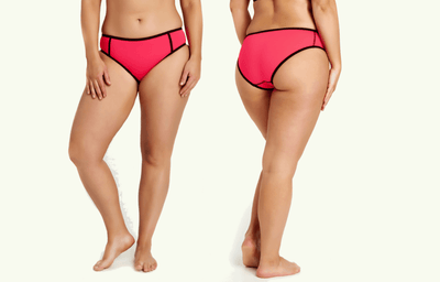 Low Rise Bikini Bottoms - Coral (old season)