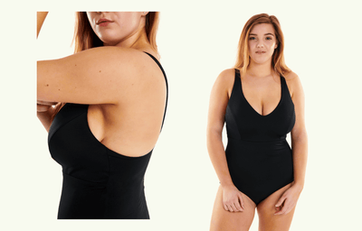 Plunge Swimsuit Black - Hendricks