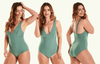 Plunge Swimsuit Willow - Hepburn