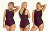 Signature Swimsuit Plum - Hepburn