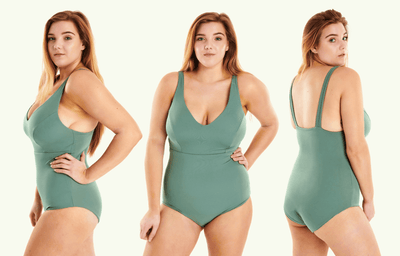 Plunge Swimsuit Willow - Hendricks