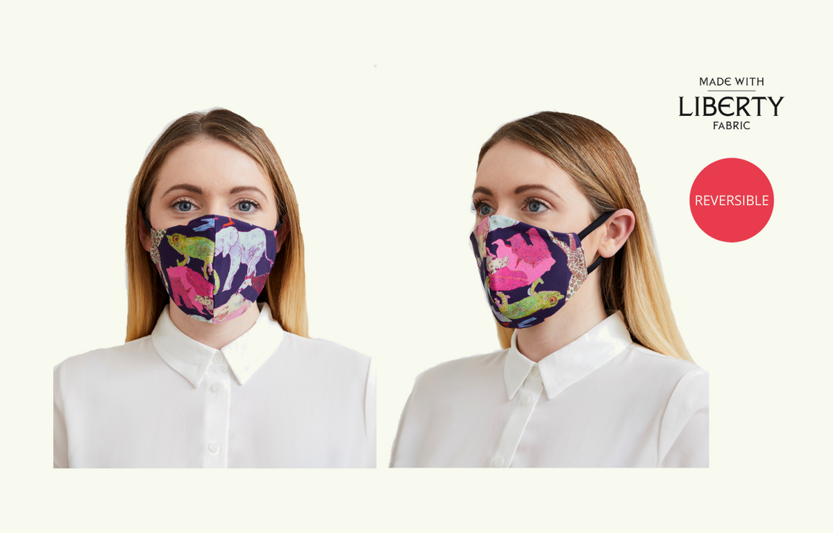 Deakin & Blue: Reversible Family Face Mask Pack