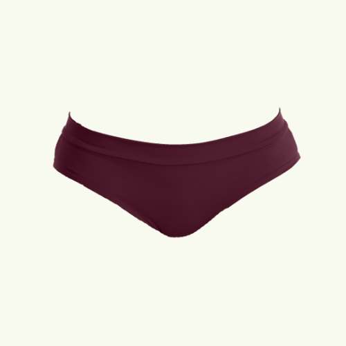 Regular Bikini Bottoms - Plum