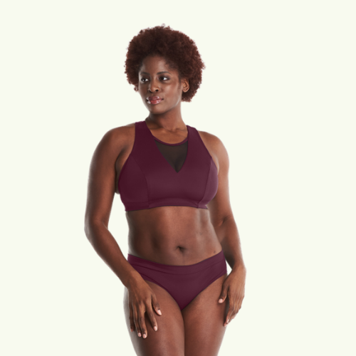 Swimbra Bikini Set Plum - Hendricks