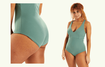 Plunge Swimsuit Willow - Monroe