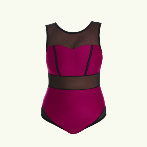 Signature Swimsuit Raspberry - Hepburn