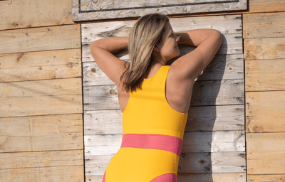 High Neck Swimsuit Mango - Hepburn