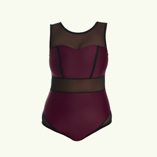 Signature Swimsuit Plum - Hendricks
