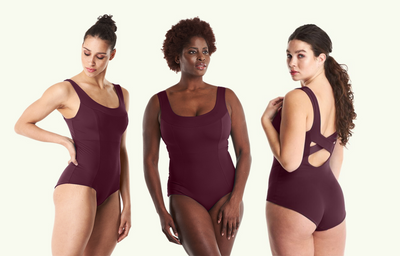 X-Back Swimsuit Plum - Hendricks
